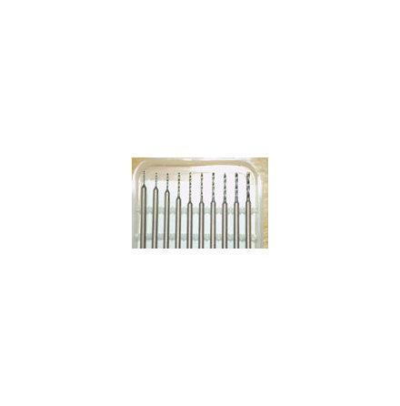 HÅRDMETALLBORR 10 st 0,5-1,4mm