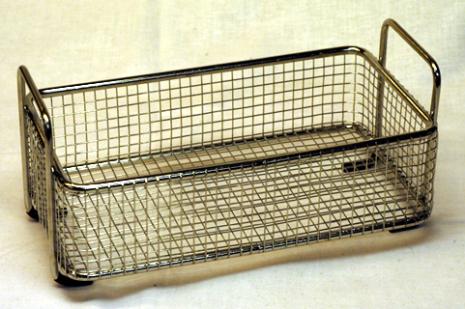 RENGÖRINGSKORG, MINDRE ROSTFR 185 x 73 x 55 mm.