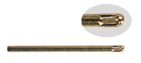 SORT. RÄFFLADE STÅLSTIFT 1,0 M 360 st, 10-22mm