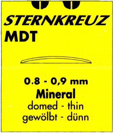 GLAS MMB/MDT,KUPIGT TUNT