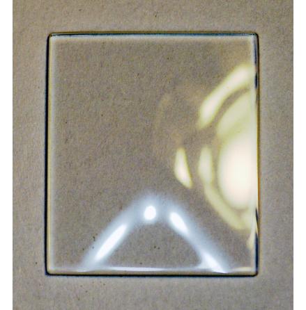 GLAS CARTIER TANK DAM 169x149x0,9h1,88mm