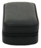 BOX FÖR 2 UR, SV SYNT, dragked 7,5x16,5x4,5 cm Redford