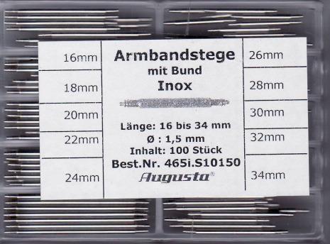 SORT. BANDSTIFT FJÄDRANDE 1,5 16-34mm 100ST