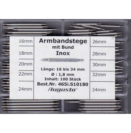 SORT. BANDSTIFT 1,8 16-34mm 100ST
