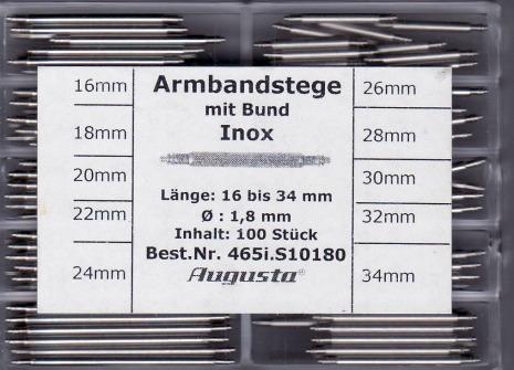 SORT. BANDSTIFT 1,8 16-34mm 100ST