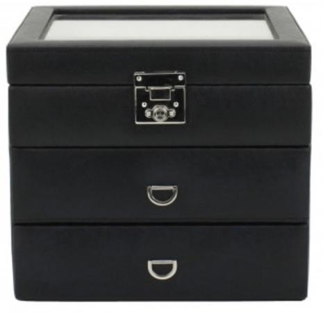 BOX FÖR 24 UR, SV SYNT GLASFRO 22 x 19 x 20 cm Redford