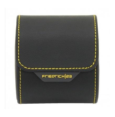 BOX FÖR 1 UR, SVART LÄDER 8,5X7X9,5 cm Chronos