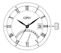 GP01 MIYOTA VERK