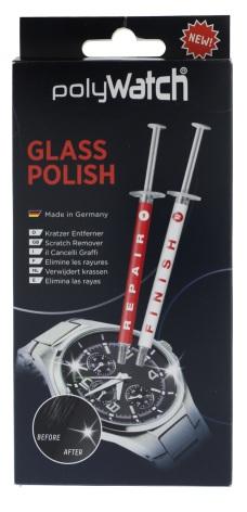 POLYWATCH, FÖR MINERALGLAS Två tuber diamantpasta+verktyg