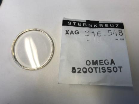 GLAS Omega PX5200 gul - nr 464 Sternkreuz XAG 316.548