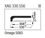 GLAS Omega PX5083 gul - nr 409 Sternkreuz XAG 330.556