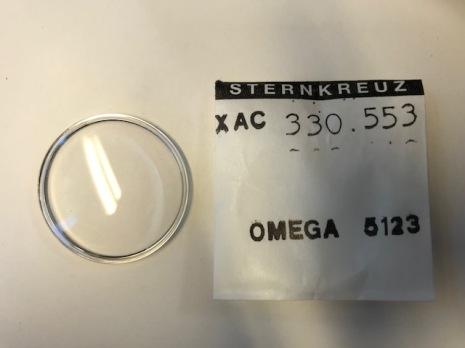 GLAS Omega PZ5123 krom - nr 406 Sternkreuz XAC 330.553
