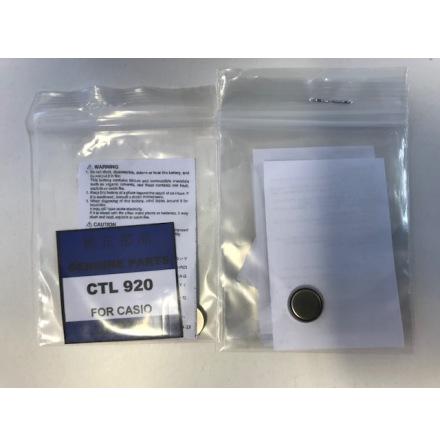 CTL920, ACKUMULATOR