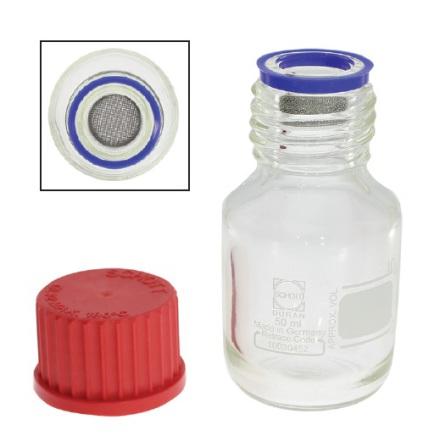 EPILAMISERINGSFLASKA 50 ml Med fast korg