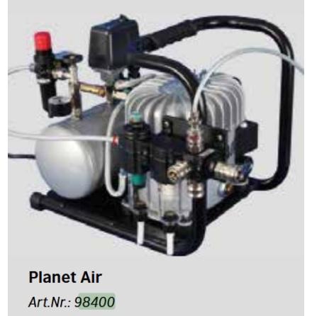 KOMPRESSOR 16 bar PLANET AIR L-S50-4
