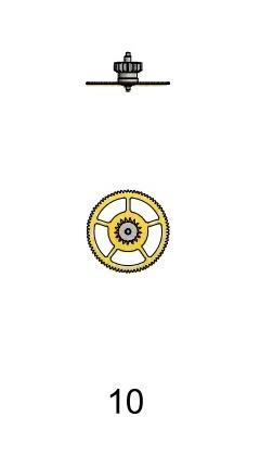 Bottenhjul Sellita SW 200-1
