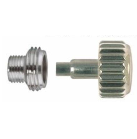KRONA, ROLEXTYP STÅL Ø 5,3 mm - 0,90 Inkl o-ring + tub M4x2,5