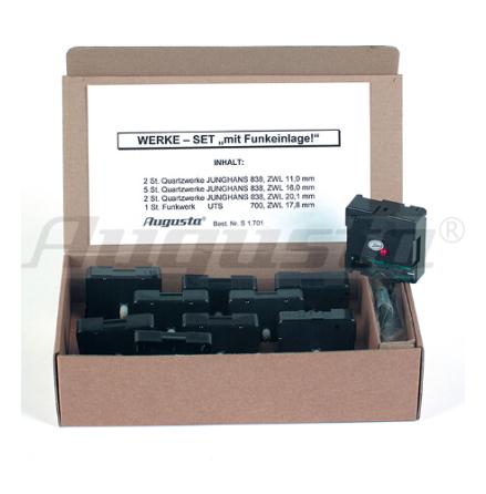 QTZVERK JUNGHANS MIX+RADIO 2-11, 5-16, 2-20mm+Radiokontroll 17,8 mm