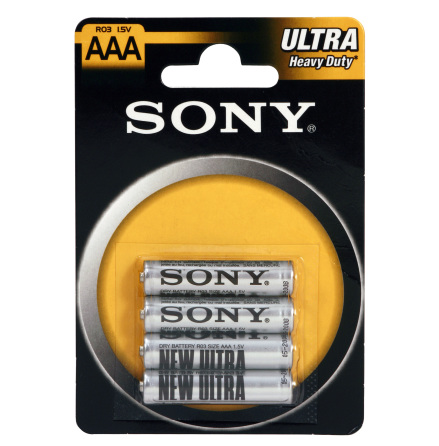 Stavbatterier, zink i blisterförpackning